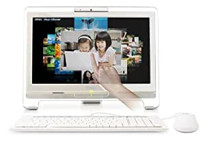 MSI AIO AE1900-01SUS 18.5-Inch Touch Screen Desktop PC - White