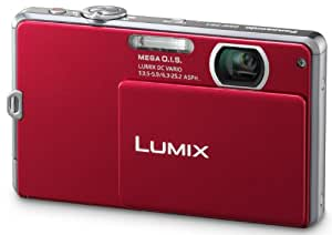Panasonic Lumix 14.1 MP Digital Camera with 4x Optical Zoom and 2.7-Inch LCD (Red)