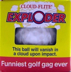 Cloud Flite Exploder - The Ball That Will Vanish in a Cloud Upon Impact - 1