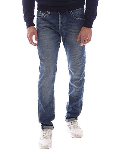 Gas 351144 Jeans Uomo Blu 36
