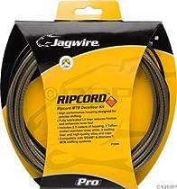 Jagwire Ripcord Derailleur Kit, Carbon Silver