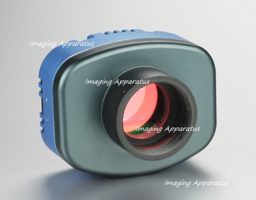 5.1 Mp Microscope Digital Color Cooled Ccd Video Camera 4 Low Light Applications