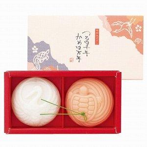日本製 つるは千年 かめは万年