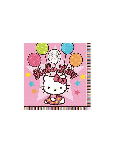 Hello Kitty 'Balloon Dream' Large Napkins (16ct)