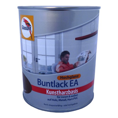 glasurit buntlack ea hochglanz kunstharzbasis 375ml 5010 enzianblau. Black Bedroom Furniture Sets. Home Design Ideas