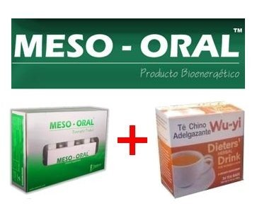 Mesoral + Wu-Yi Chinese Tea 100% Original Meso Oral Weight Loss Perder Peso
