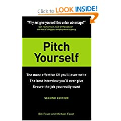 Image: Cover of Pitch Yourself: The Most Effective CV You'll Ever Write. Stand Out and Sell Yourself