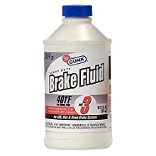 Gunk M4412/12 DOT 3 Heavy Duty Brake Fluid - 12 fl. oz.