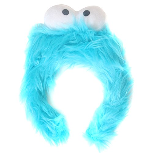 Kids Blue Monster Furry Costume Headband
