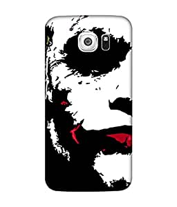 small candy 3D Printed Back Cover For Samsung Galaxy S6 -Multicolor joker