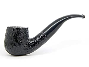 Wooden Starter Tobacco Smoking Pipe (Bent Billiard)