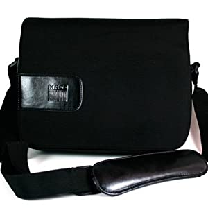 Messenger Bag for Netbook up to 10-Inch (Black)