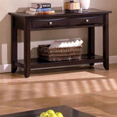 Baldwin Espresso Finish Console Table front-1042727