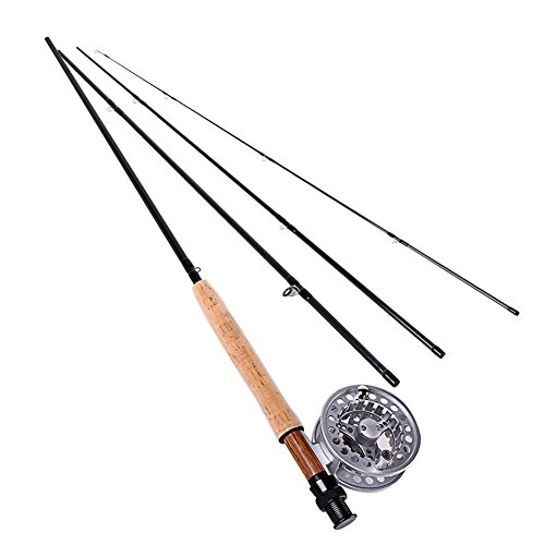 f286ecb6c Sougayilang Saltwater Fly Fishing Rod with Reel Combo Kit