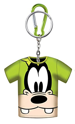 Disney Goofy T-Shirt Coin Holder Keyring - 1