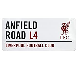 Official Football Team Metal Street Sign Liverpool Fc by Official Football Merchandise