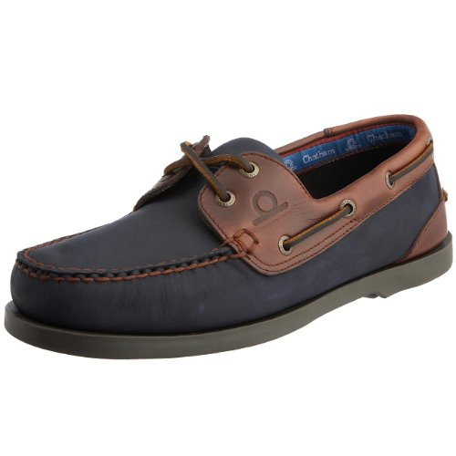 Chatham Marine Men's Bermuda G2 Boat Shoe Navy/Seahorse D072-095 9.5 UK