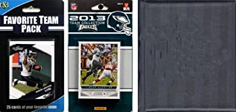 NFL Philadelphia Eagles Licensed 2013 Score Team Set and Favorite Player Trading Card... by C&I Collectables