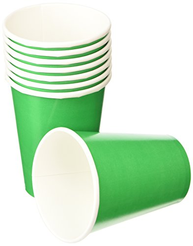 Cup 9Oz Festive Green 8ct [Toy] - 1
