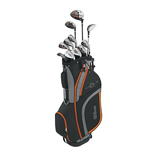 Wilson Profile XLS Teen Complete Package Golf Set, Right Hand, Orange (Profile Golf compare prices)