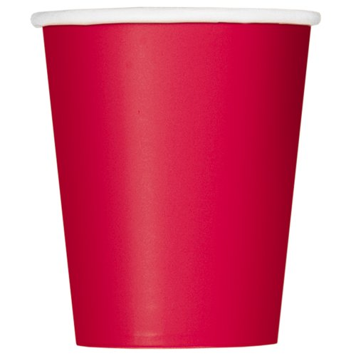9oz Red Paper Cups, 14ct - 1