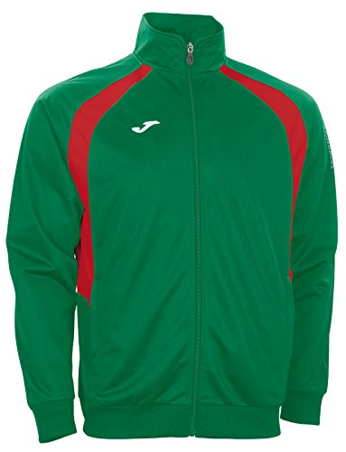 Joma Felpa Champion III Green Medium/Red, Taglia: XL