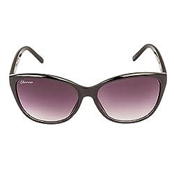 Chevera Voguish Wayfarer Black Sunglasses