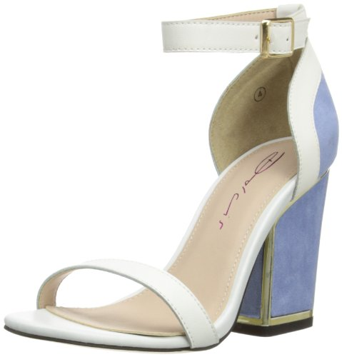 Dolcis Womens Fashion Sandals OLP198 Lilac/White 7 UK, 40 EU