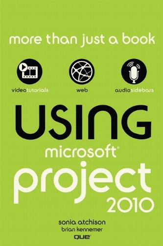 Using Microsoft Project 2010
