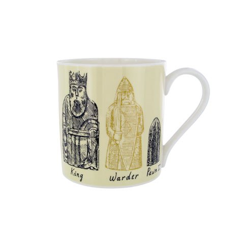 The Lewis Chessmen Mug