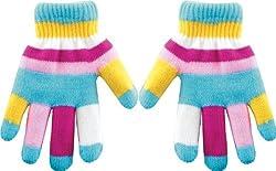 True Gear Children's Insulated Gloves (Light Blue)