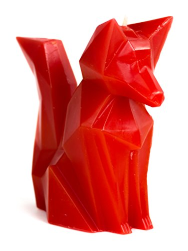 Fox Candle - Foxy - Geometric Candles - Red