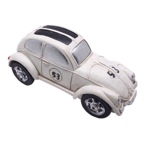 Retro Classic Cars Model Toy Kids Birthday Christmas White - 1