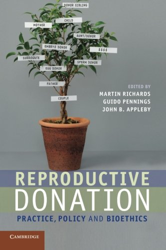Reproductive Donation: Practice, Policy and Bioethics
