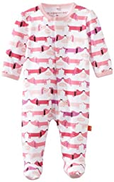 Magnificent Baby-Girls Newborn Footie, Hot Dogs, 6 Months
