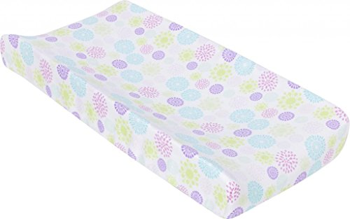 Miracle Blanket MiracleWare Muslin Changing Pad Cover, Color Bursts - 1