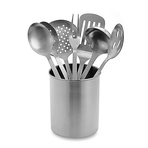 Stainless Steel Kitchen Utensil Set – 8 Pieces Reviews
