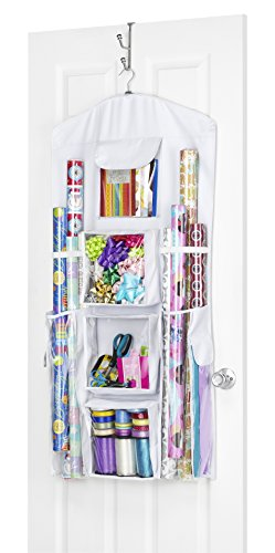 Whitmor 6129-5344 Gift Wrap Organizer (Gift Wrapping Paper Storage compare prices)