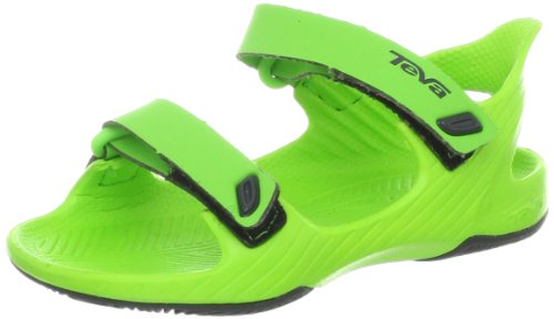 Teva Barracuda T's Water Sandal (Toddler/little Kid/Big Kid),Green,4 M US Toddler