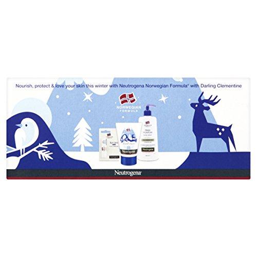 Neutrogena - Norwegian Formula, Set da regalo con crema corpo, burrocacao e crema mani