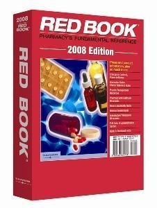 Red Book, 2008 (Red Book Drug Topics)