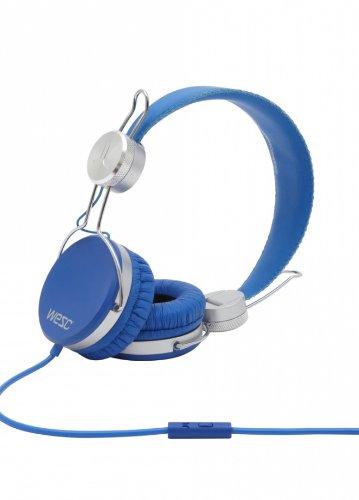 Wesc 000719368B Banjar Headphones With Mic, Jazz Blue
