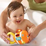 Dazzling VTech Baby Sing and Splash Fish with accompanying ChildSAFE Door Stops
