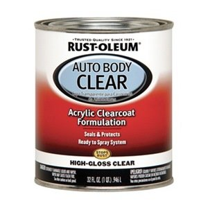 Auto Body Paint, Clear Coat, 1 Qt.