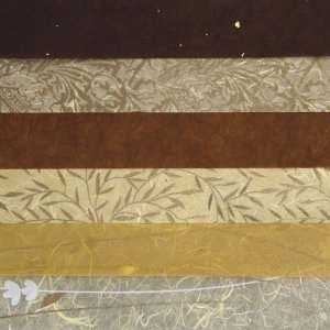 RAYHER - Papier-Set DIN A3 Braun-Töne, SB-Btl. 6 Stück verschiedene Farbtöne