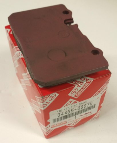 Toyota Genuine Parts 04465-50070 Front Brake Pads