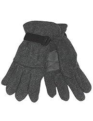 Winter Warm-Up - Little Girls' Fleece Gloves, Charcoal 27854-onesize