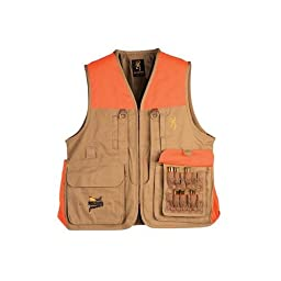 Browning Pheasants Forever Vest Field, Tan, 2XL 3051163205