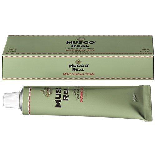 Claus Porto Musgo Real Lime Basil Shaving Cream (100 ml) by Musgo Real (English Manual)