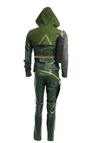 Halloween Men's Oliver Cosplay Costume Outfits & Eye Mask Suit